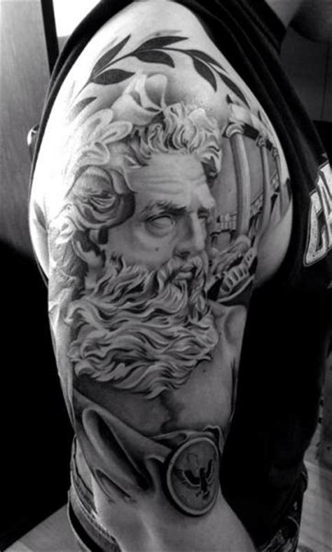 ancient roman tattoos ancient beard realistic by westfall
