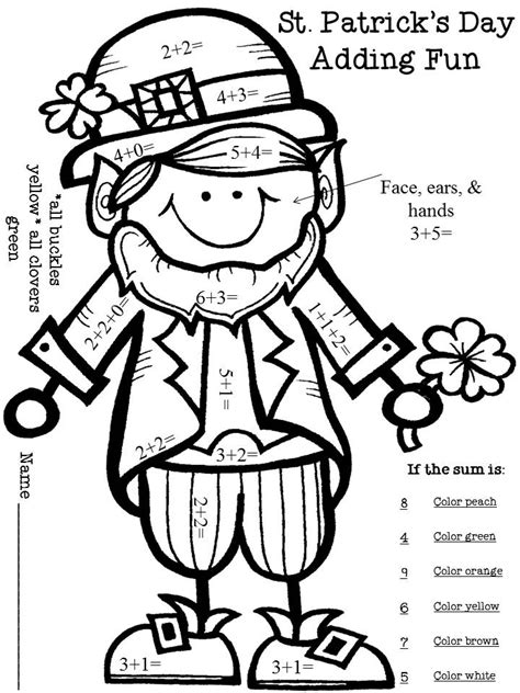 free st patricks day coloring pages coloring home