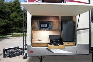 kitchen amusing fifth wheel with outdoor kitchen rv with