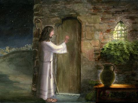 Jesus Knocking At The Door Images by Jesus Knocking At The Door Artwork Christian
