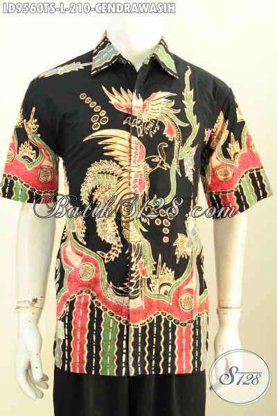 Baju Batik Pria Motif Kalijagalengan Pendek baju batik terbaru pria kemeja batik modis motif