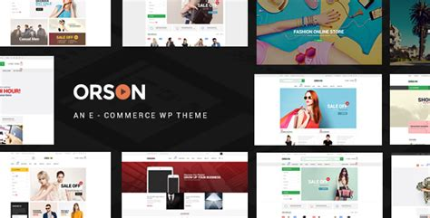 Gatsby V1 1 Ecommerce Theme orson v1 9 innovative ecommerce theme 精博建站