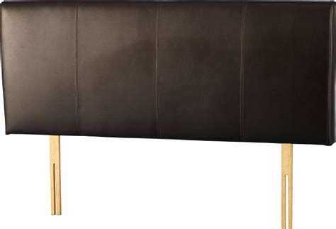 Leather Headboards Uk by Palermo Faux Leather Headboard 5ft Black