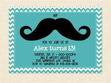13 birthday invitation templates free printable birthday invitations for 13 year boys