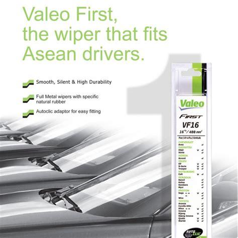 Honda Hrv Wiper Mobil Valeo Flat Blade Quality 18 20 valeo wiper blade for peroduaviva 2pcs set
