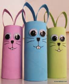 bunny rabbit toilet paper roll craft for crafty morning ecoscrapbook easter kid s craft toilet paper roll bunnies