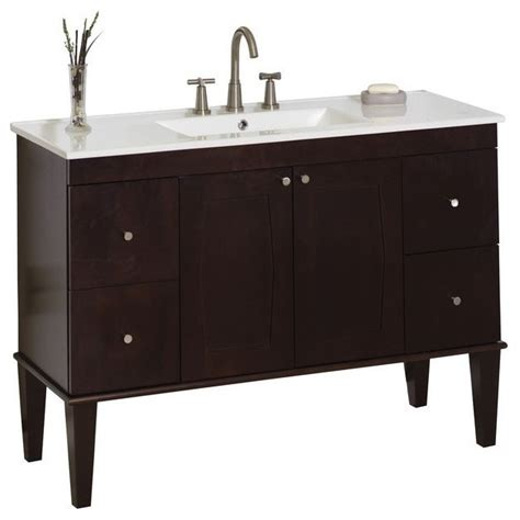 bathroom vanity base only american imaginations roxy ai 12 399 birch wood veneer