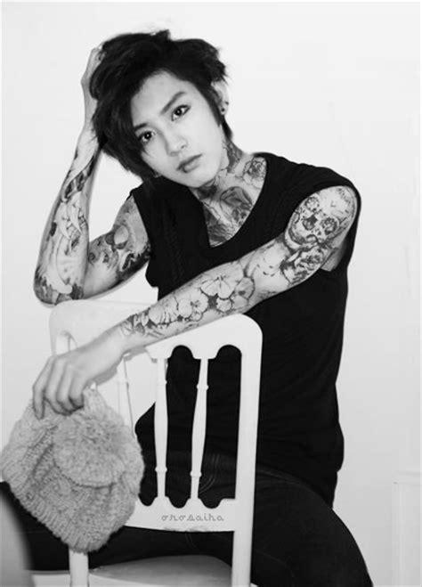 exo k chanyeol tattoo tattooed chanyeol 2 by orosaiha exo pinterest