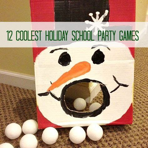 diy christmas party games for groups 12 coolest school find a gift bag with a snowman and students use