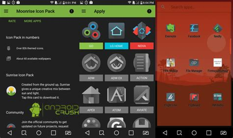 icon theme nova launcher free best nova launcher themes icon packs 2017 android crush
