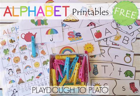 abcd pattern kindergarten free alphabet printables playdough to plato