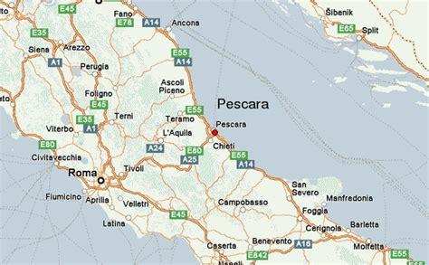 map of pescara italy pescara location guide