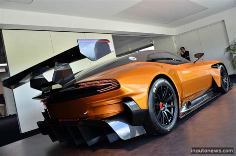 orange aston martin aston martin vulcan shows in orange motor exclusive