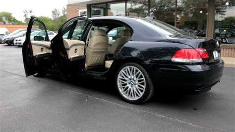 bmw 750i vs 750li 2006 bmw 750li luxury cars markham