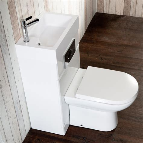 metro combined two in one wash basin toilet victorian