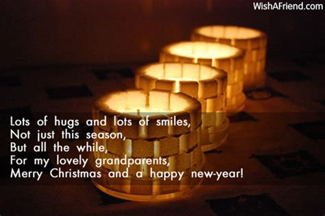 new year greetings for grandparents lots of hugs and lots of message for grandparents