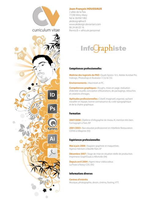 Best Resume Designs by 30 Artistic And Creative R 233 Sum 233 S Webdesigner Depot