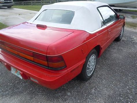 auto air conditioning service 1995 chrysler lebaron regenerative braking purchase used 1995 chrysler lebaron gtc convertible 2 door 3 0l low miles very clean car in palm