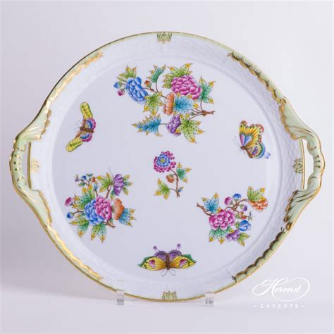 Cake Plate ? Queen Victoria   Herend Experts