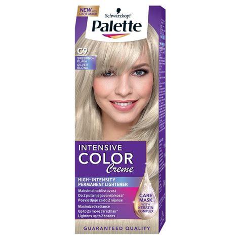 palette salon colors farbe za kosu palette intensive color creme boja za kosu c9 silver blond