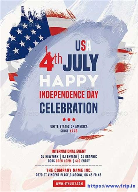 independence day flyer 60 best 4th of july u s independence day flyers print