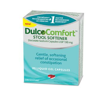 Dulcolax Stool Softener Tablets by Dulcocomfort Stool Softener 25 Units Dulcolax Tablet
