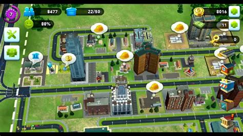 simcity buildit layout guide level 13 simcity build it android gameplay at level 7 youtube