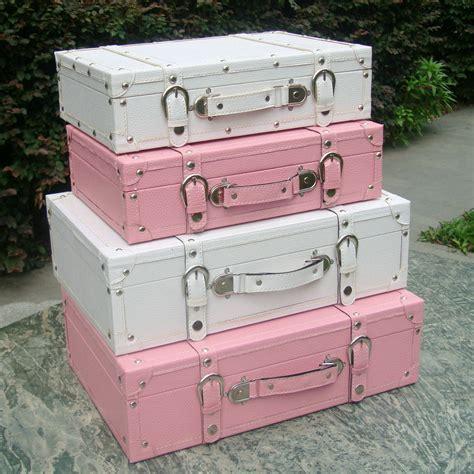 Koper Vintage Wood Retro Style Luggage Suitcase Bag Large Olb2252 fashion vintage suitcase storage box suitcase wooden box pink white decoration box photography