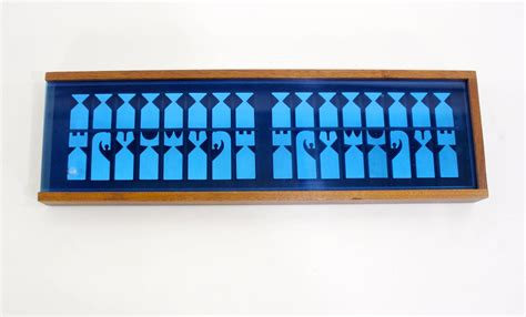 mid century modern chess set mid century modern chess set by austin cox for sale at 1stdibs