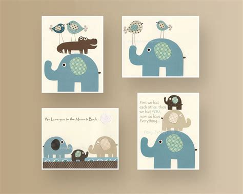Elephant Room Decor by Baby Room Decor Nursery Room Baby Elephant Nursery Wall