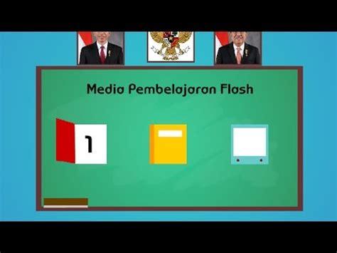 tutorial flash untuk media pembelajaran tutorial membuat media pembelajaran sederhana dengan adobe