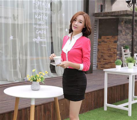 Kemeja Import Korea 18 kemeja wanita modern model terbaru 2015 model terbaru