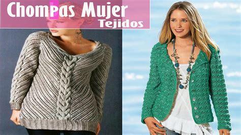 chompas de tejido para damas ropa femenina chompas mujer tejidas dise 241 o y moda youtube
