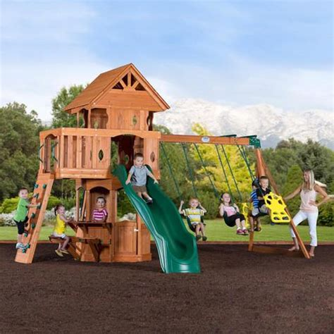 Backyard Discovery Front Playset Accessories You Can Add To Your Wooden Swing Sets