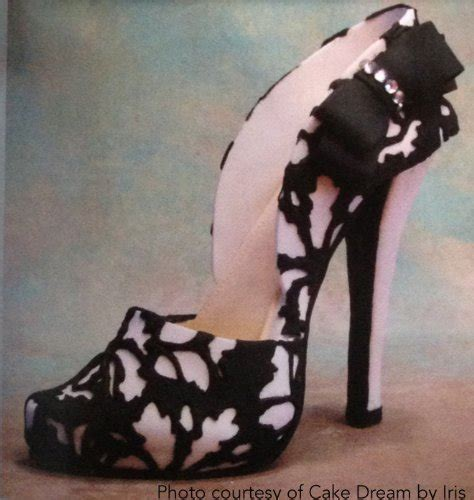5 quot high heel shoe kit for gumpaste fondant 045635368507