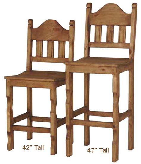 Rustic Mexican Bar Stools by Rustic Bar Stool Counter Bar Stool And Pine Wood Bar Stool
