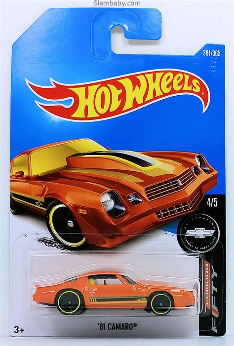 hot wheels  camaro orange  camaro fifty