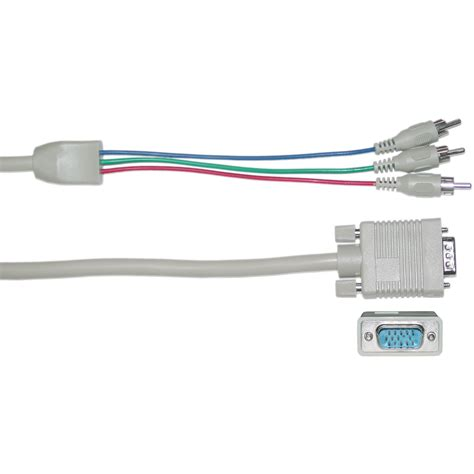 ft vga  component home theater projector cable