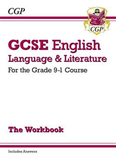 grade 9 1 gcse english gcse english language and literature workbook for the grade 9 1 courses includes answers