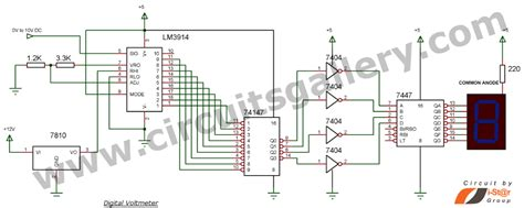 digital voltmeter circuit diagram how to build a digital voltmeter of your own