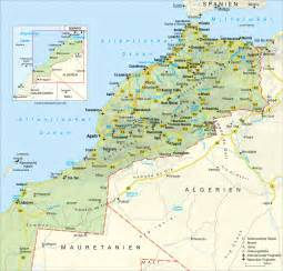 road map with cities road map of morocco with relief cities and airports