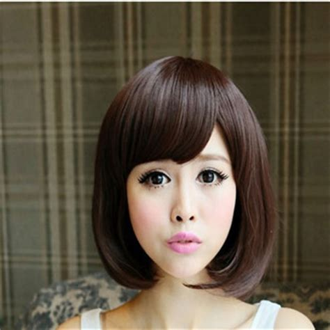 versafiber for round face wigs short bob curly hair wig sexy lady pear flower head short