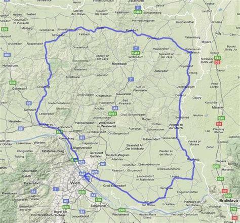 Motorradtouren Weinviertel motorradtouren einzelansicht marchfeld weinviertel runde