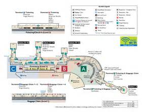 airport map terminal map metropolitan washington airports authority