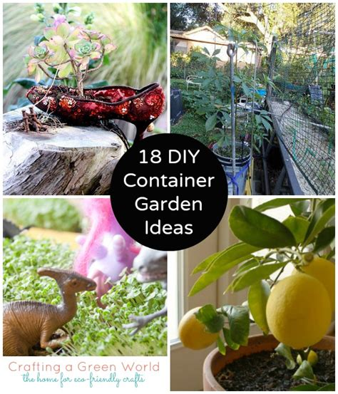 Diy Container Garden by 18 Container Garden Ideas And How To Keep Your Plants Alive