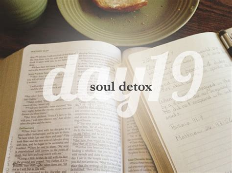 And Soul Lenten Detox by Day 19 She Reads She Reads