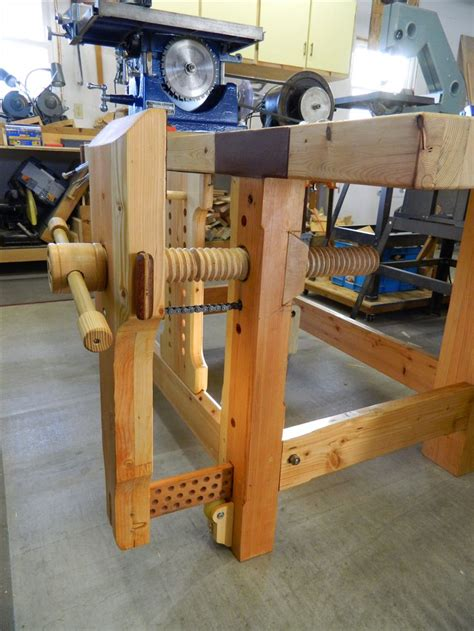 homemade bench vise plans making a woodworking vise woodworking projects plans