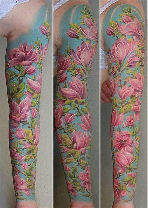 50 magnolia flower tattoos flores de cerejeira flores