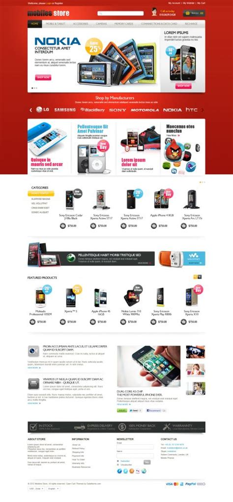 themes mobile store mobile store responsive opencart theme boss themes