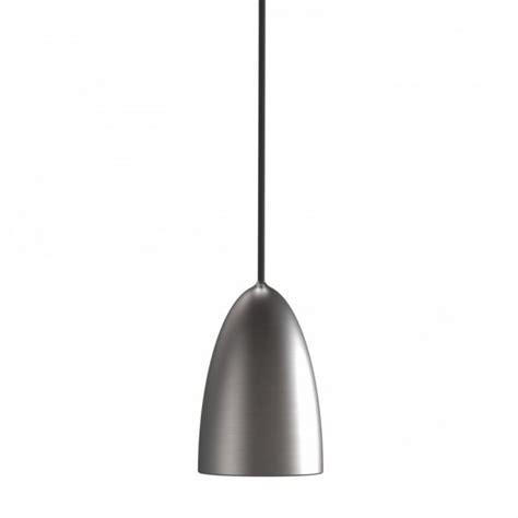 brushed steel pendant light modern ceiling pendant light in brushed steel